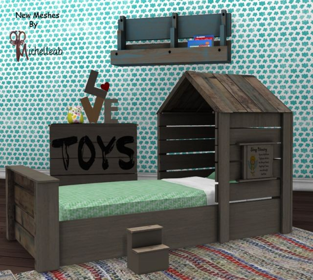 Rustic Clubhouse Toddler Set by Michelleab