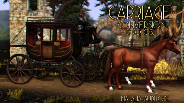 Carriage Conversion by natalia-auditore