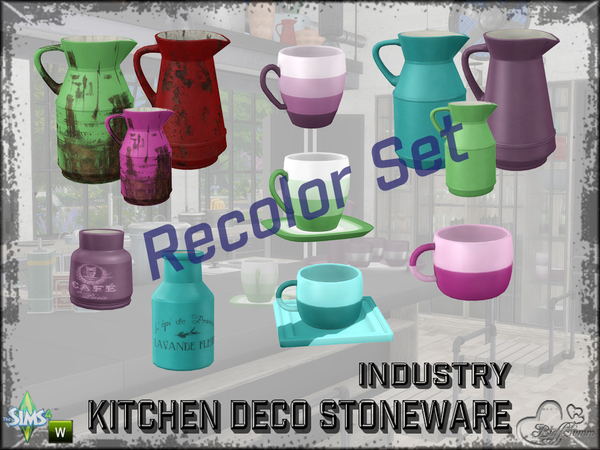 Kitchen Industry Deco Pt.2 Recolor by BuffSumm