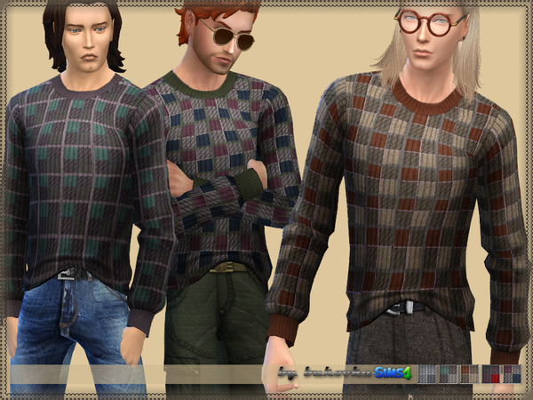 Sweater Plaid by bukovka