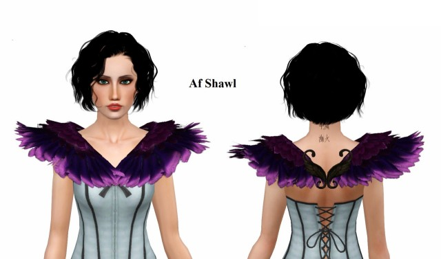 Acc Ivete Feathers by VenusPrincess