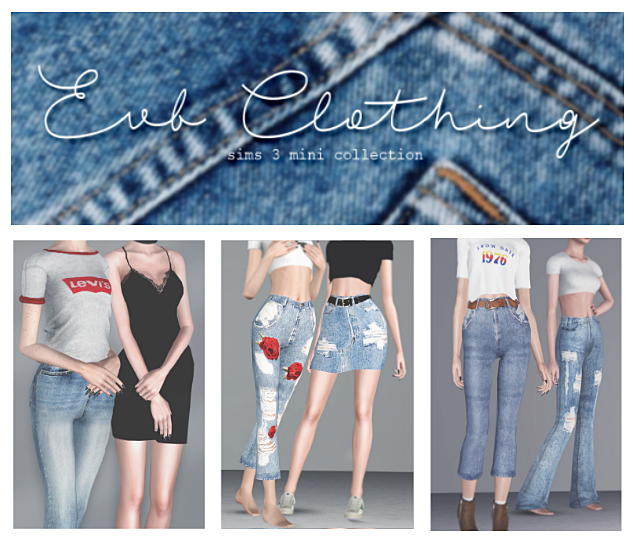 EVB Clothing - Jeans Mini Collection by OPSIMS