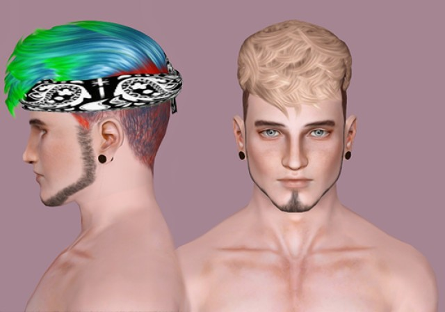 Ade - Caleb by IfcaSims