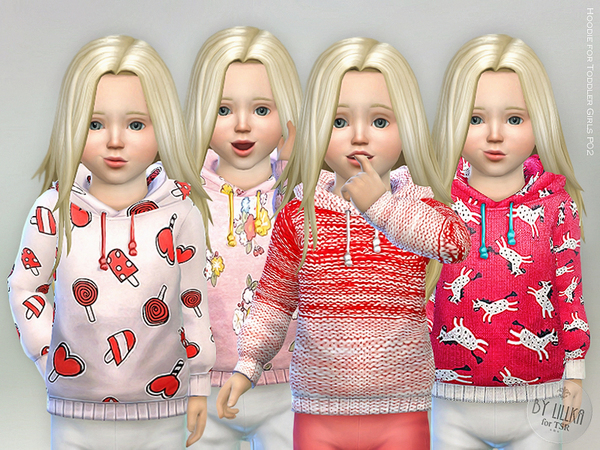 Hoodie for Toddler Girls P02 by lillka