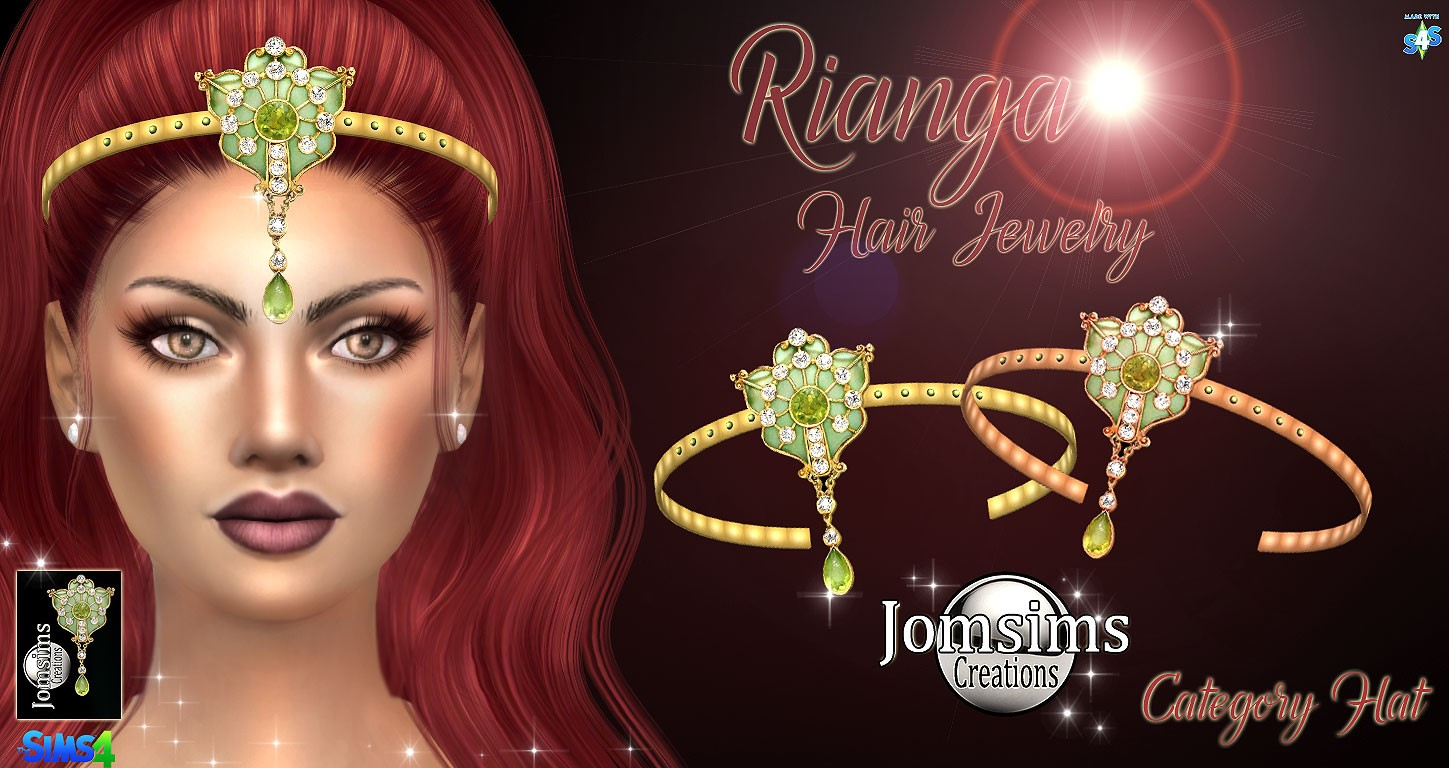 Hair Jewelry by JomSims