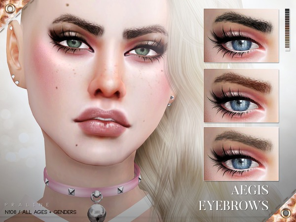 Aegis Eyebrows N106 by Pralinesims