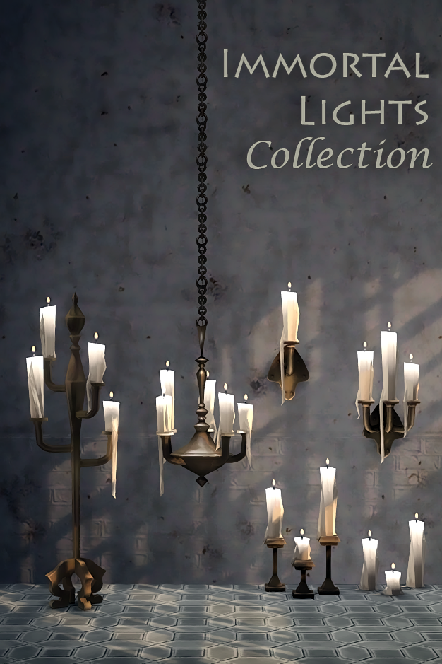 Immortal Lights Collection by KiwiSims4