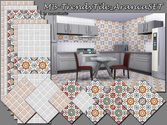 Trendy Tile Aranca SET by matomibotaki