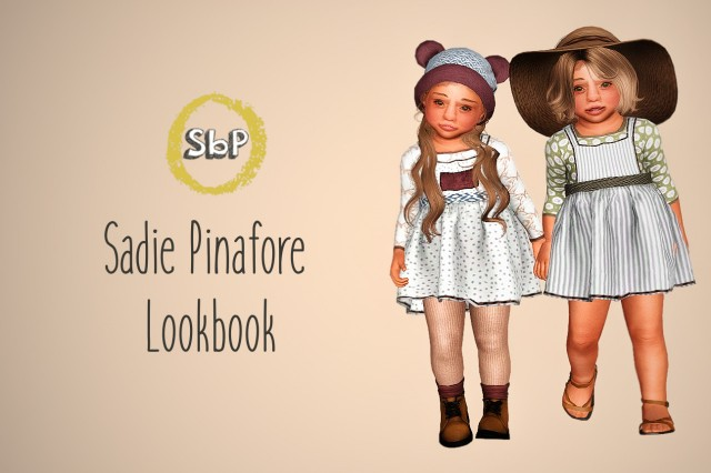 Sadie Pinafore Lookbook by Mimisapje