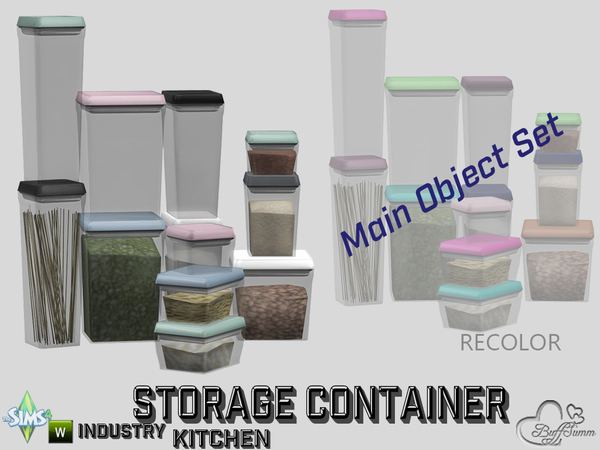 Kitchen Storage Containers by BuffSumm