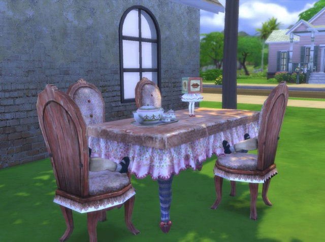 Azaya's Alice Madness Set by Reivan13Sims