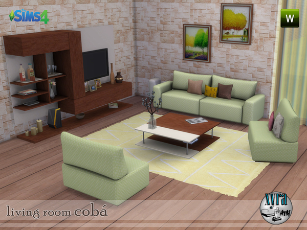xyra Coba living room set by xyra33