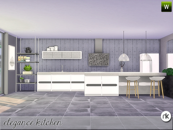 Elegance Kitchen by nikadema