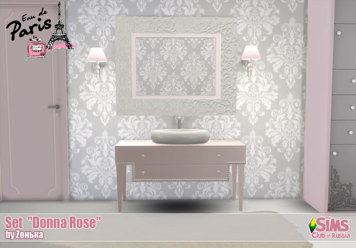 "Set ""Donna Rose"" by Zонька"