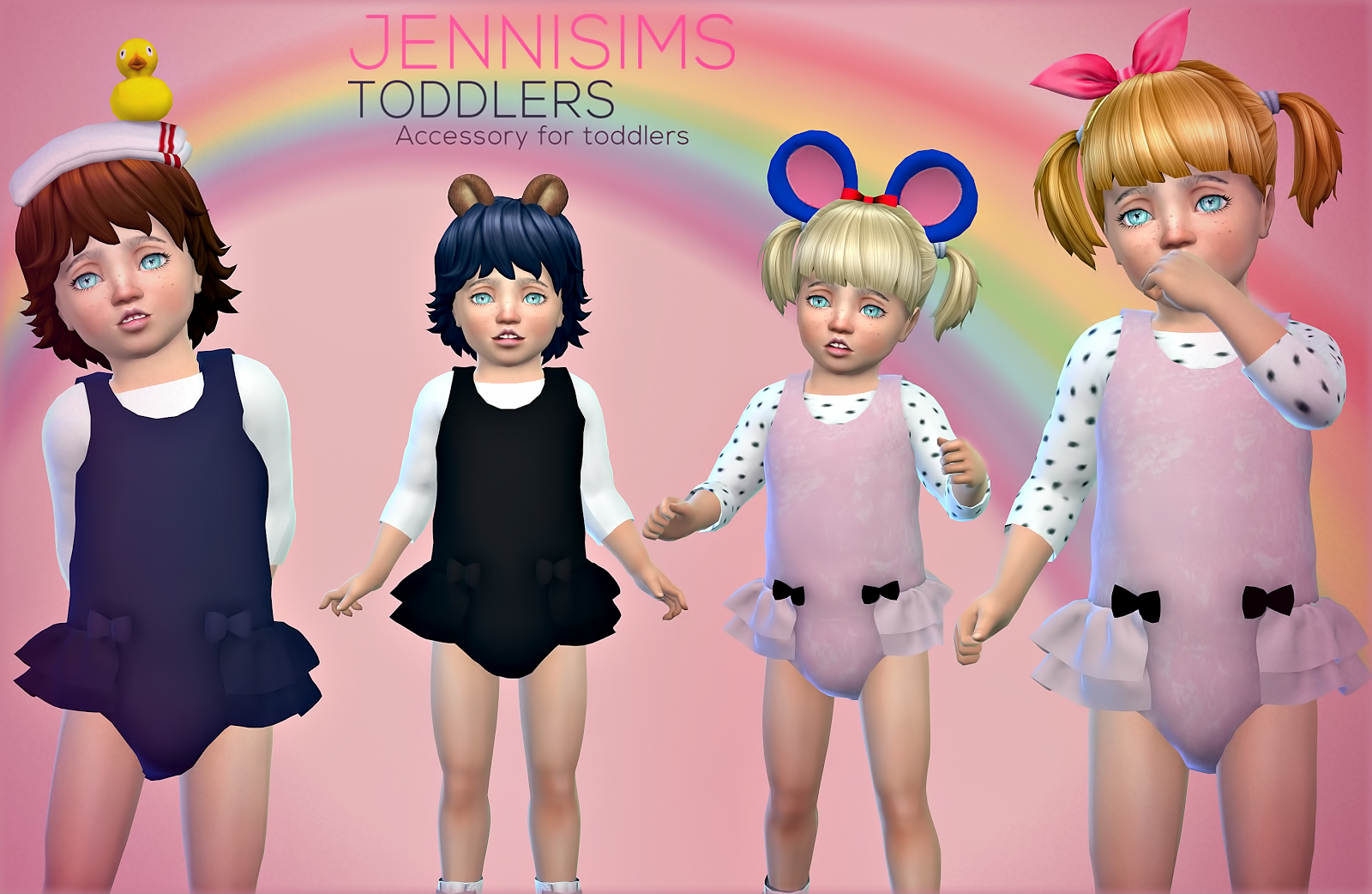 Accessories for Toddlers by JenniSims