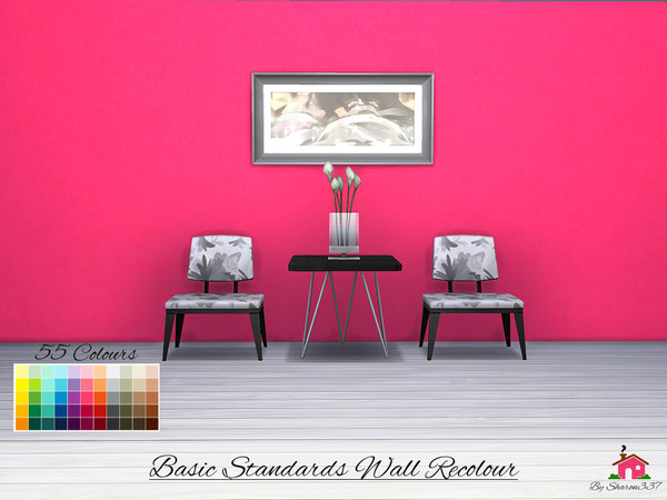 Basic Standards Wall Recolour by sharon337