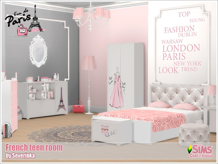 French teen room by Severinka