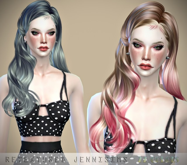 Newsea Peaky Angels Hair retexture by JenniSims