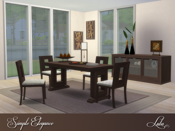Simple Elegance Dining by Lulu265