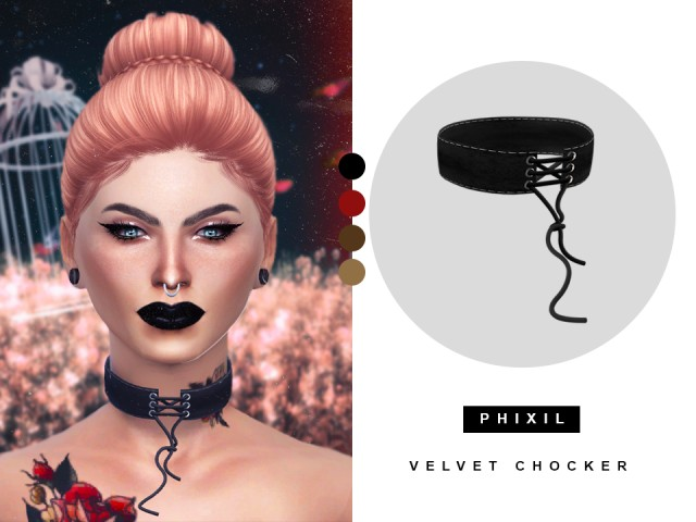 VELVET CHOCKER by Phixil