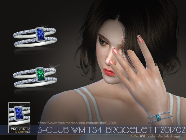 S-Club WM ts4 bracelet F201702