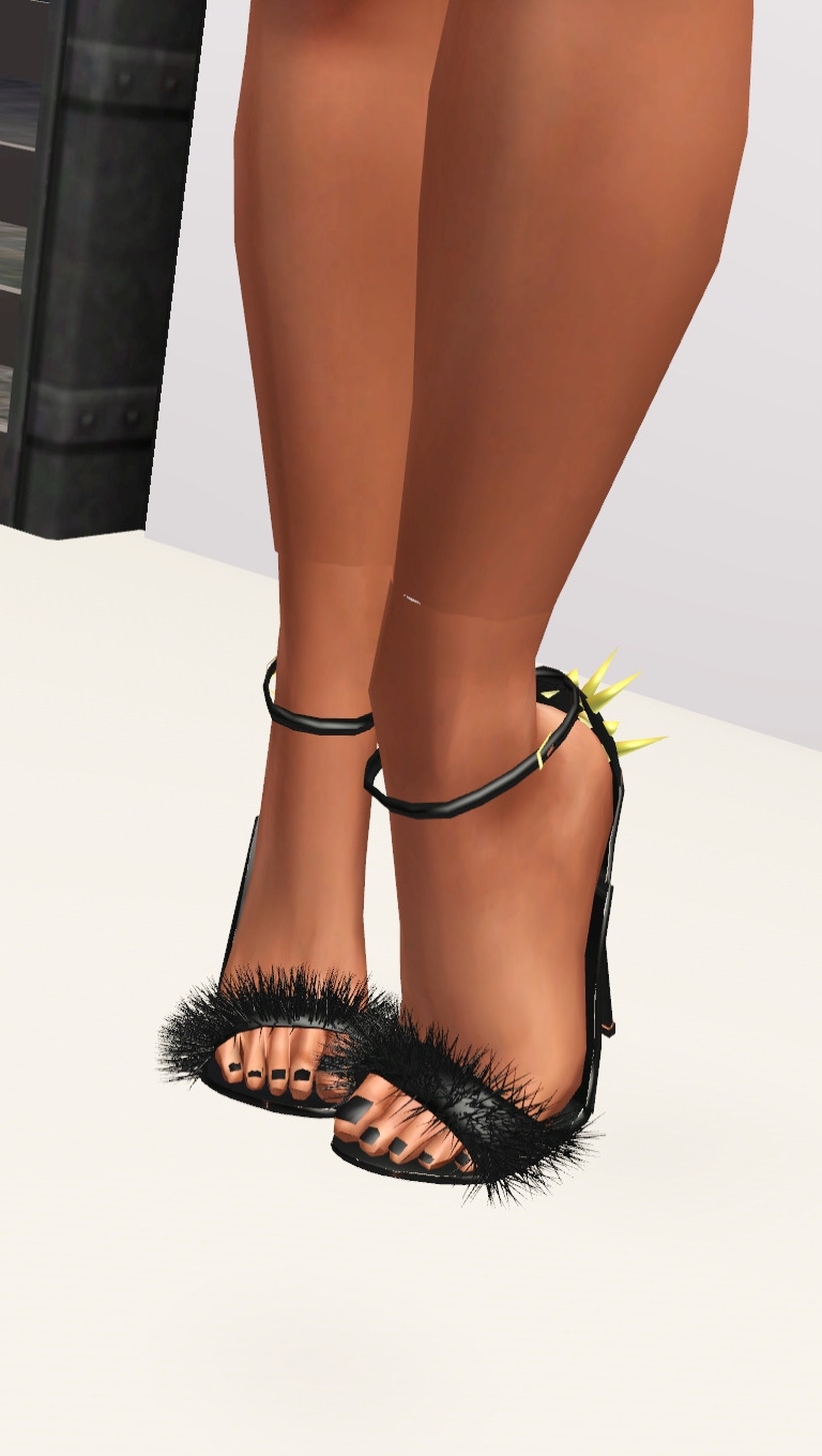 Zanotti Fur Heels by highlivingsims
