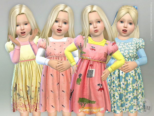 Toddler Dresses Collection P12 by lillka