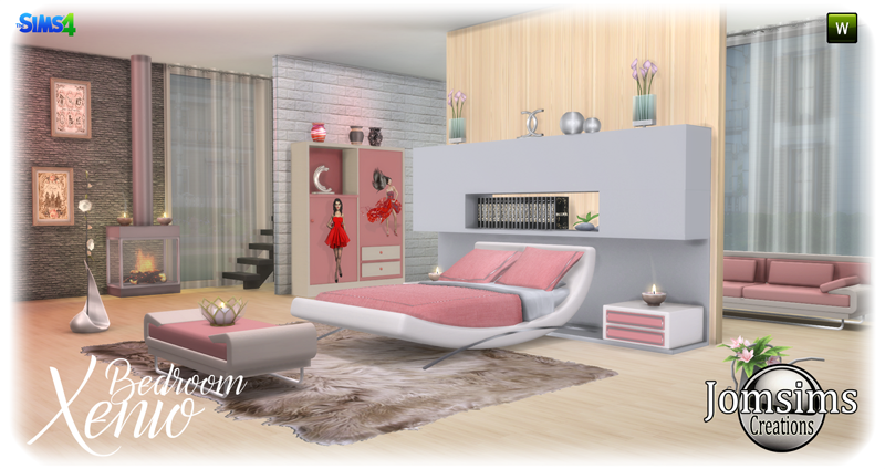Xenio Bedroom Set by JomSims
