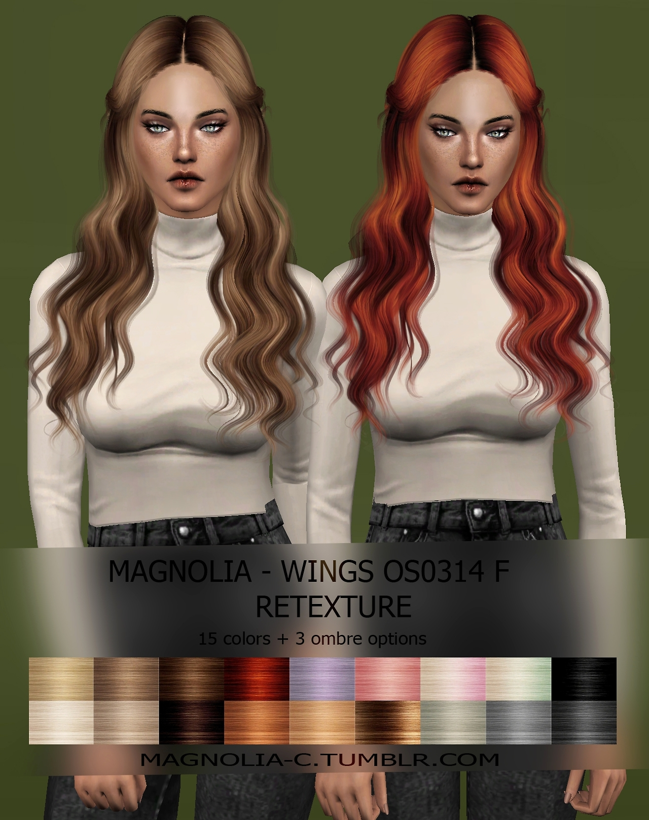 Wings Hair Retexture by MagnoliaC