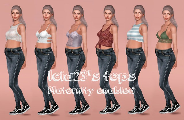 Icias tops enabled for maternity by narukiisims