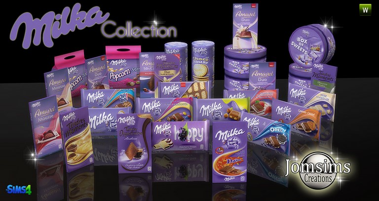 Milka Collection by JomSims