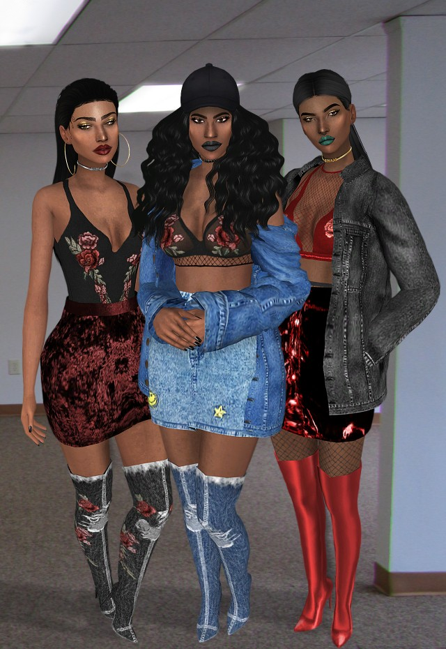 SAVAGE COLLECTION TS4 by Vittler Universe