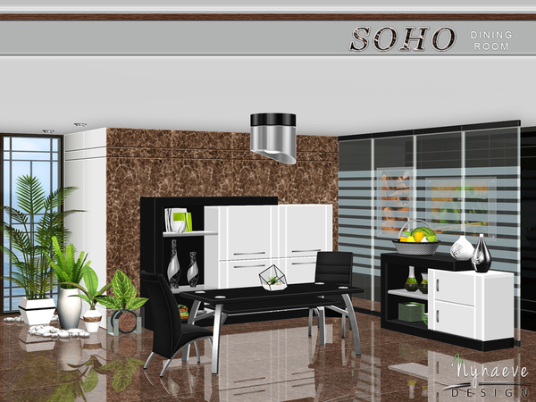 Soho Dining by NynaeveDesign