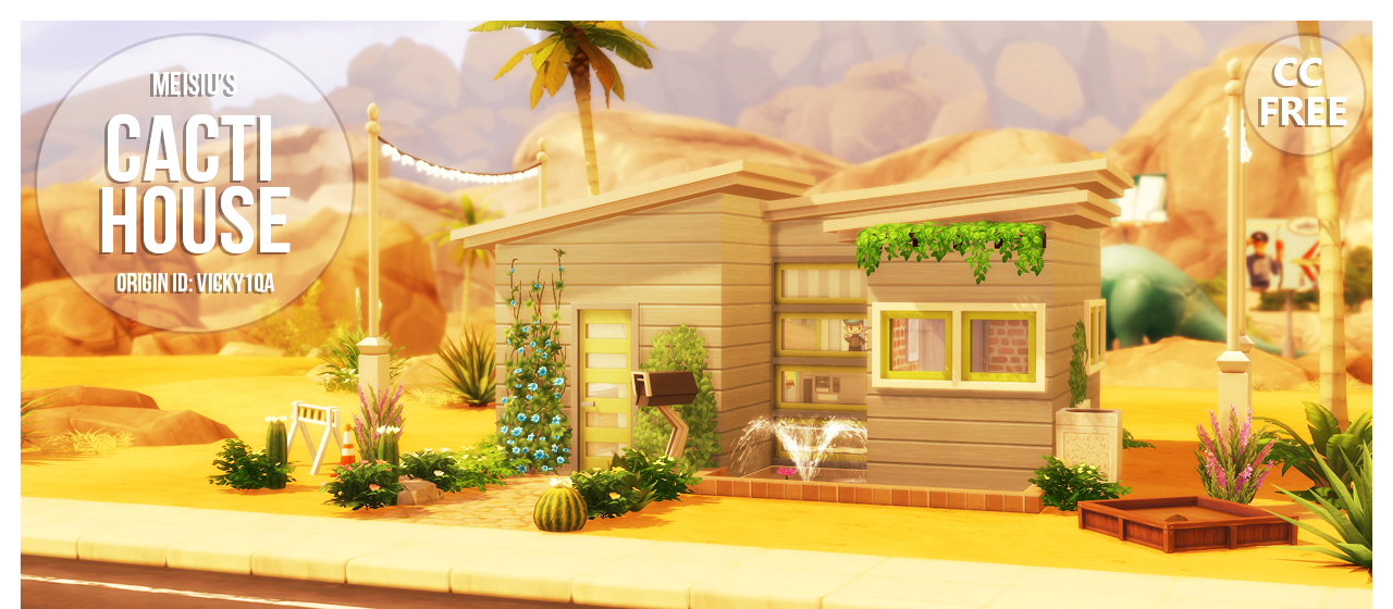 Meisius Cacti Starter House - No CC by Meisiu