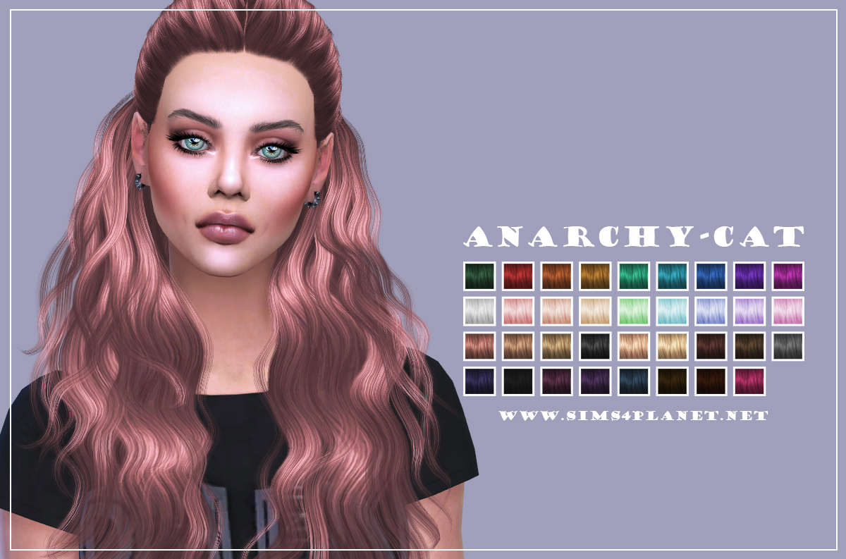Cazy Hair c178 Hannah by Anarchy-Cat