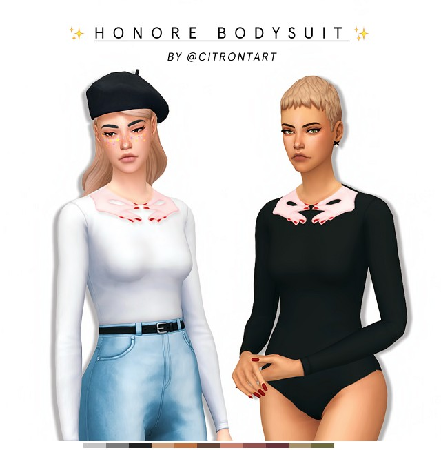 HONORE BODYSUIT by citrontart