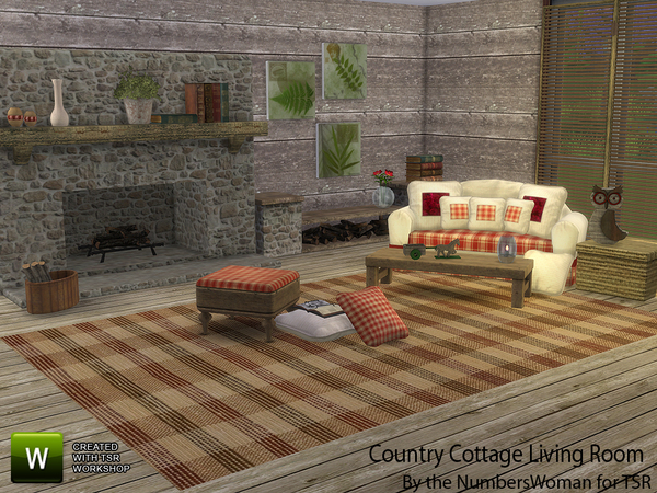 Country Cottage Living by TheNumbersWoman