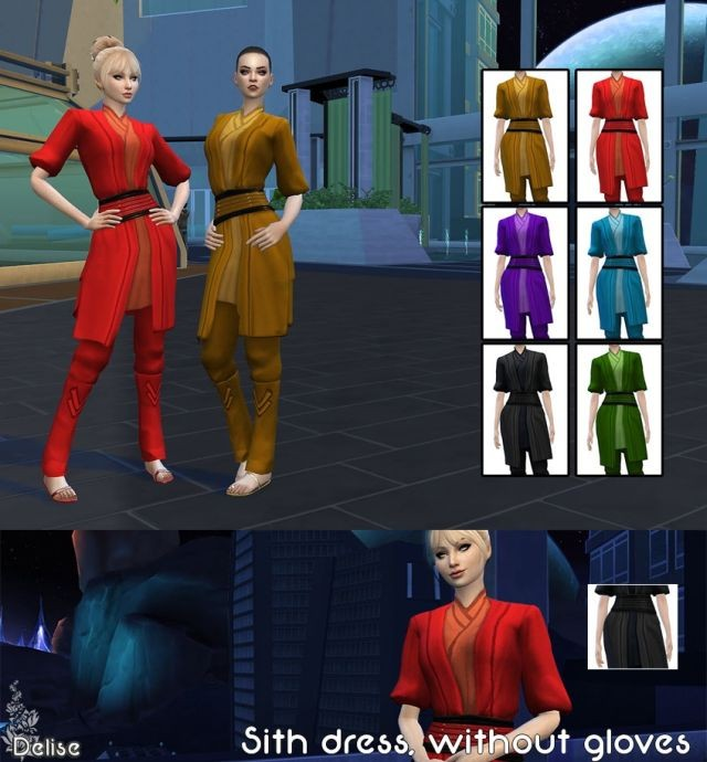 Sith Robe without Gloves by Delise