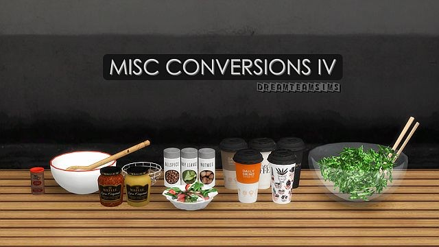 Misc Conversions by DreamTeamSims