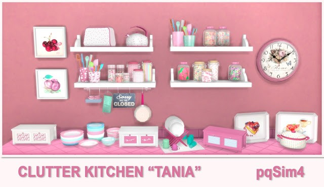Tania Kitchen Clutter by pqSim4