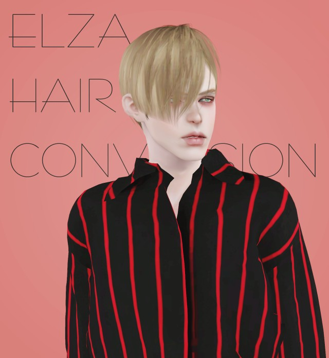 Elza Circle hair 4to3 Conversion by effiethejay