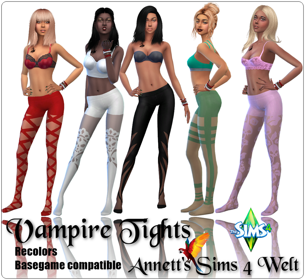 Vampire Tights Recolors by Annett85