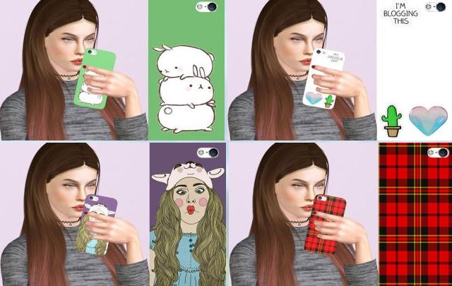 IPHONE CASES (Pack 6) by Descargassims