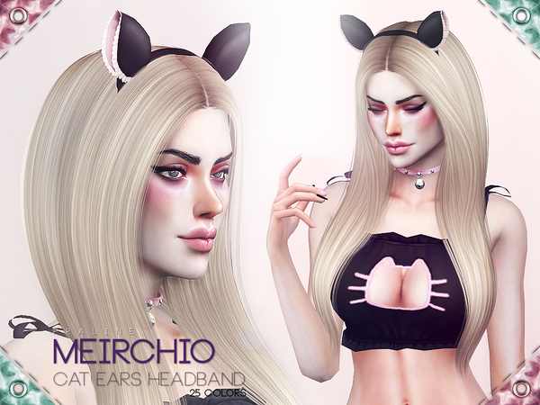 Meirchio Cat Ears Headband by Pralinesims