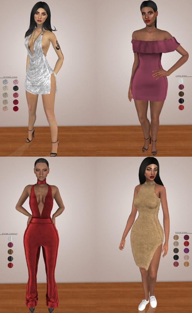 KENDALL SET TS4 by Vittler Universe