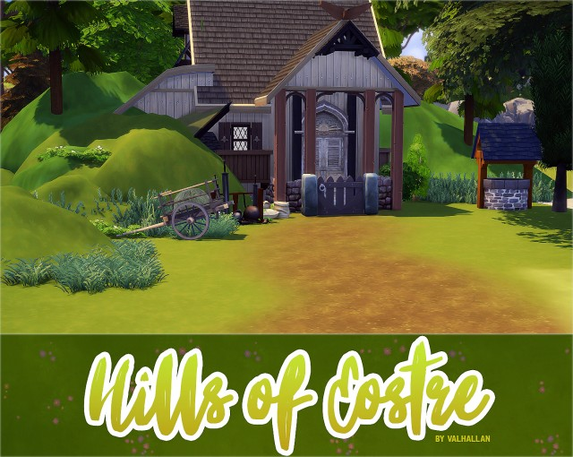 Hills of Eostre: 10 different types of hills by ValhallanSim
