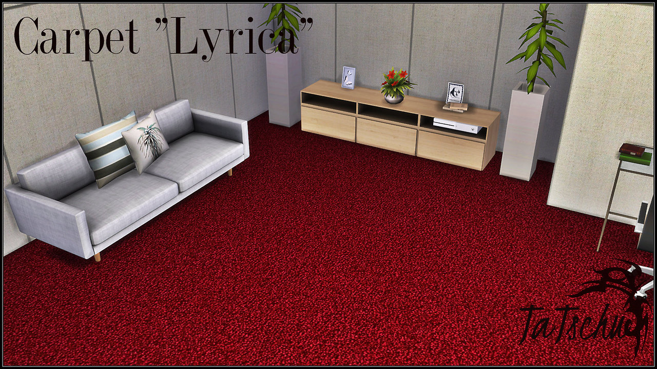 Lyrica Carpet Floors by Tatschu
