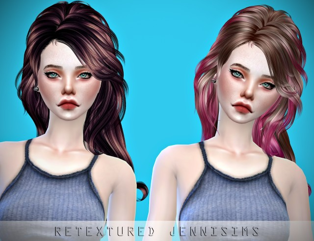 Newsea VirginSnow Hair retexture by JenniSims