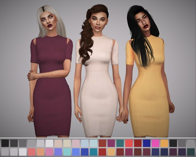 Robyn Dress by Avelinesims