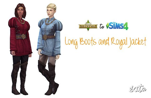 TSM Long Boots and Royal Jacket Outfit by ZxTa